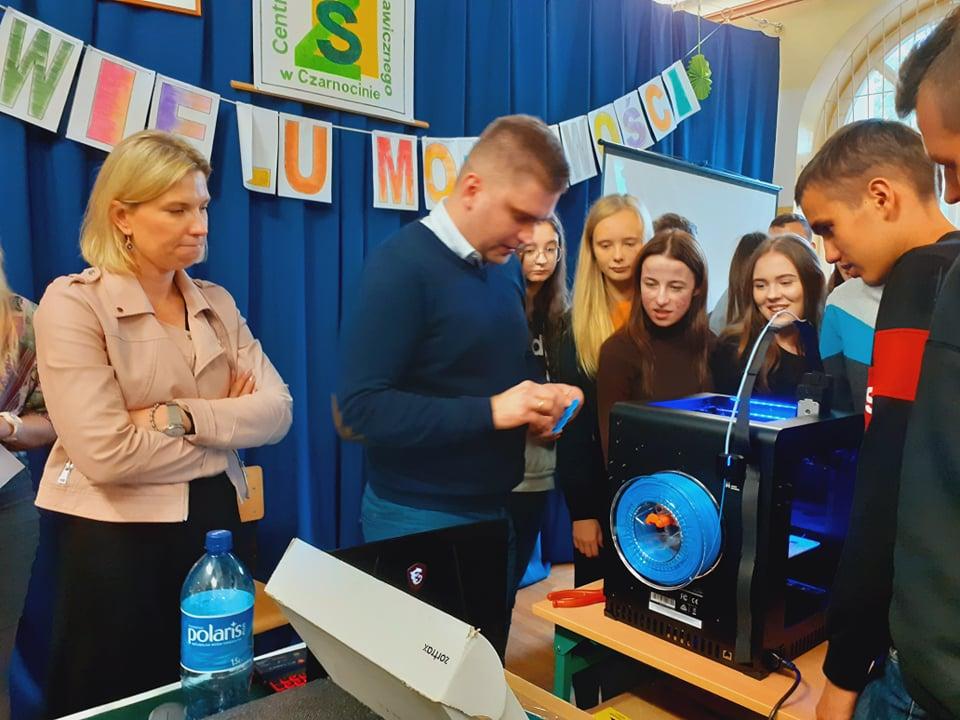 Prezentacja drukarki 3D
