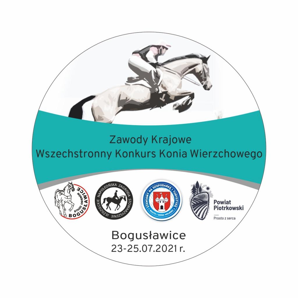 Plakat imprezy przygotowany przez Stado wBogusławicach